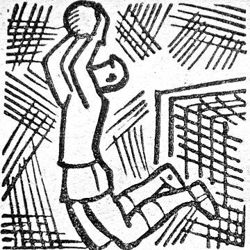 soviet football goalkeeper retro by garethstamp