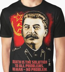 Allied Nations - Joseph Stalin Graphic T-Shirt
