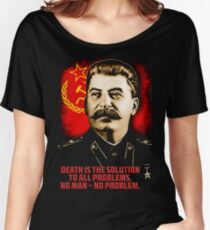Allied Nations - Joseph Stalin Women's Relaxed Fit T-Shirt