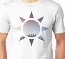 tree sunset Unisex T-Shirt