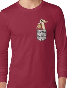 Calvin and Hobbes Pocket Long Sleeve T-Shirt