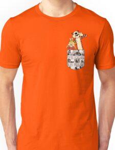 Calvin and Hobbes Pocket Unisex T-Shirt