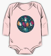 Busy Easter Bunnies One Piece - Long Sleeve