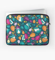 Busy Easter Bunnies 1 Laptop Sleeve