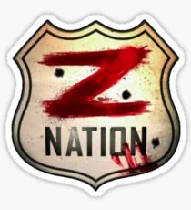 z nation logo Sticker