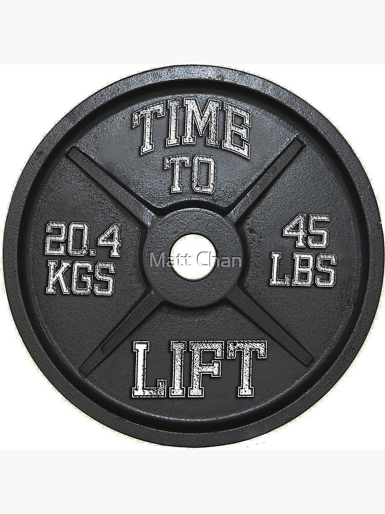 Time To Lift - Barbell Club by mchanfitness