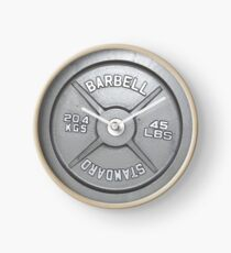 Barbell Plate Clock