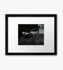 Abandoned 1948 Cadillac Limo Hood Ornament Framed Print