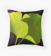 green pair Throw Pillow