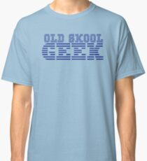 OLD SKOOL ibm GEEK Classic T-Shirt