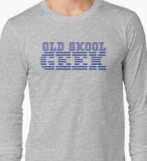 OLD SKOOL ibm GEEK Long Sleeve T-Shirt