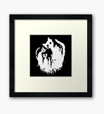 Ghost cats Framed Print