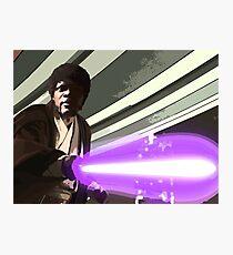 Jedi Master Jules Mace Windu  Photographic Print