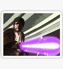 Jedi Master Jules Mace Windu  Sticker