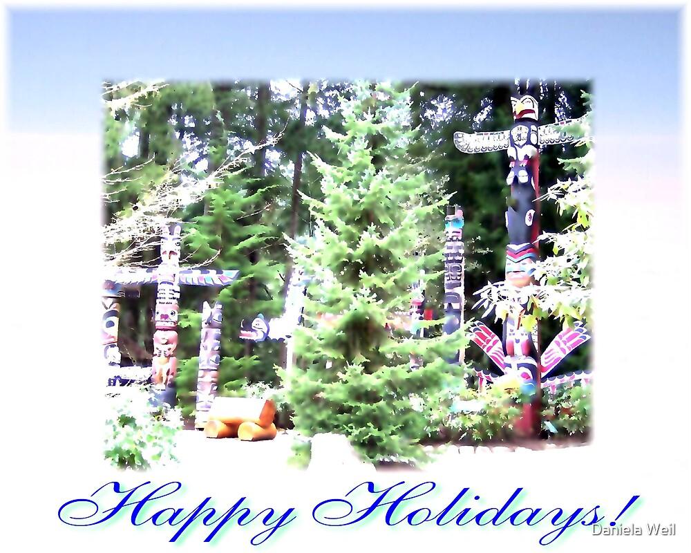 Happy Holidays by Daniela Weil