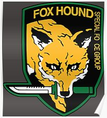 Foxhound Logo Posters