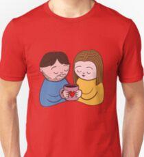 Coffee Couple Unisex T-Shirt