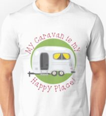 My Caravan is my Happy Place Unisex T-Shirt