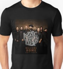 WELCOME HOME ZAC BROWN TOUR SIAPA Unisex T-Shirt