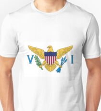 Flag of the US Virgin Islands Unisex T-Shirt