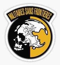 Militaries sans Frontieres Sticker