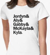 2012 US Olympic Team | Gymnastics (Black) T-Shirt