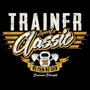 Personal Trainer T-Shirt by ByStreetDesigns