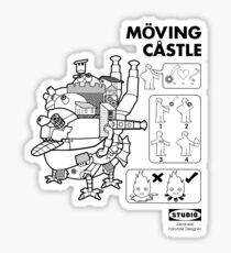 Möving Castle Sticker