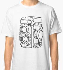 Classic Twin Lens Reflex (Black) Classic T-Shirt