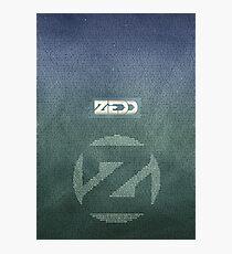 Zedd Lyrics Poster Photographic Print