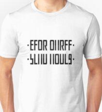 SEND NUDES / hidden message black T-Shirt