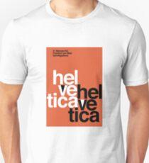 Helvetica Vintage Poster Unisex T-Shirt