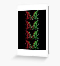TRIBE CALLED QUEST LOW AND THEORY  Greeting Card
