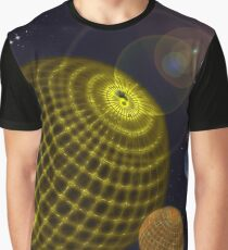 3D Planets Graphic T-Shirt
