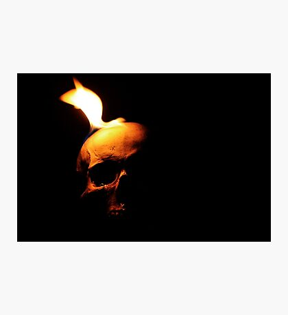 Fire Demon of Muspelheim Photographic Print