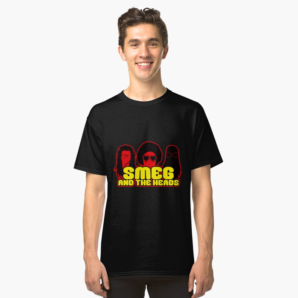 Smeg And The Heads Classic T-Shirt Front