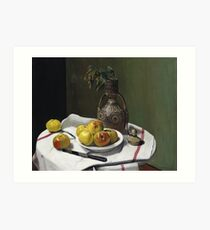 Felix Vallotton - Apples And A Moroccan Vase Art Print