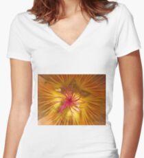 Inner Beauty Women's Fitted V-Neck T-Shirt
