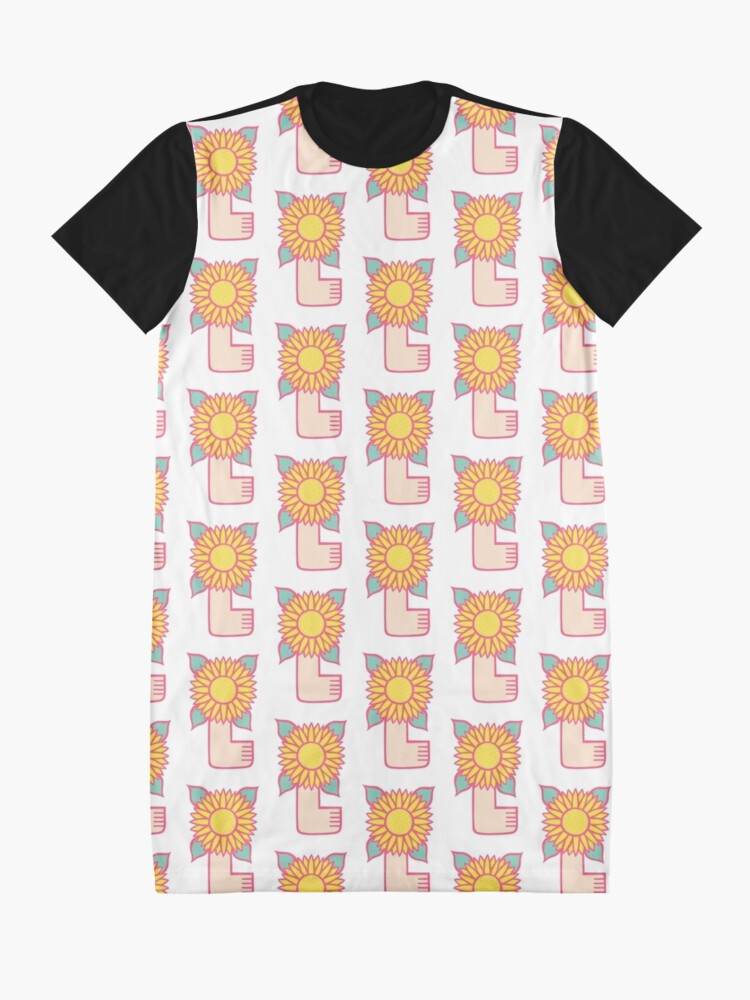 Alternate view of Spring has sprung Graphic T-Shirt Dress