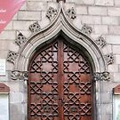 Catadral de Barcelona - Door by DPalmer