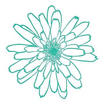 Aqua Wire Bloom by cek812
