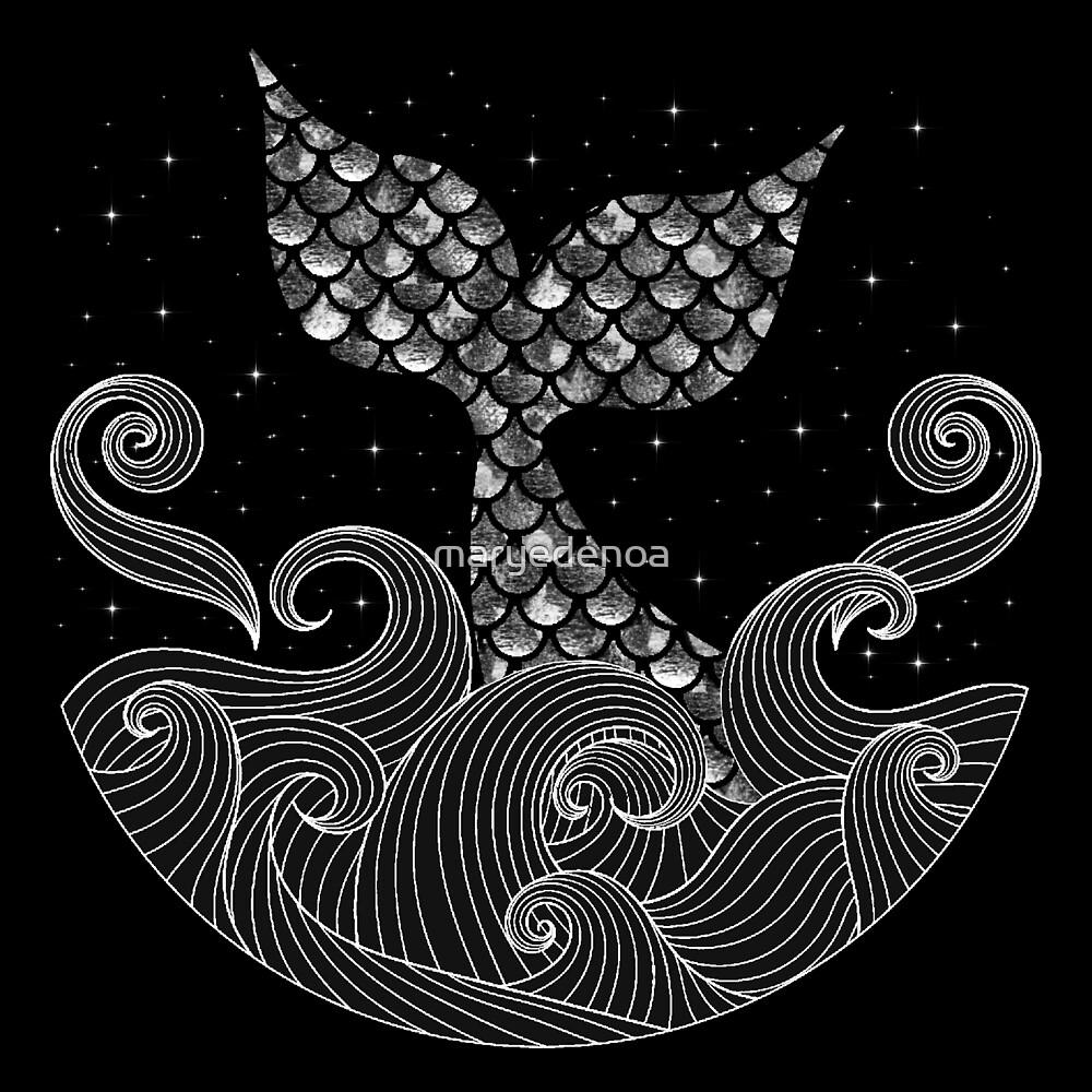 The Mermaid by maryedenoa