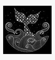 The Mermaid Photographic Print