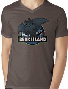 Berk Island Mens V-Neck T-Shirt