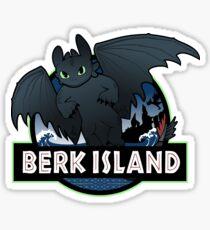 Berk Island Sticker