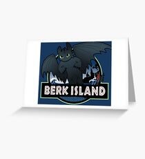 Berk Island Greeting Card