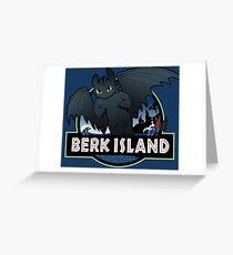 Berk Island Greeting Card