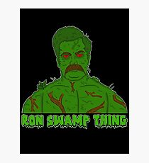 Ron Swamp Thing Photographic Print