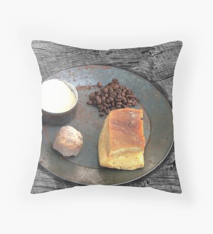Field Rations Throw Pillow