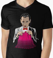 Knitting & Knitting Men's V-Neck T-Shirt
